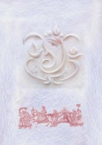 Front of the Wedding Card