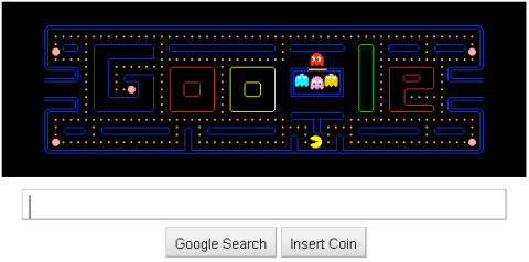 Google Celebrates 30 years of PacMan